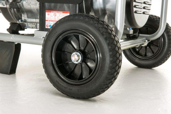 Wheel kit for Yamaha EF7200E generator