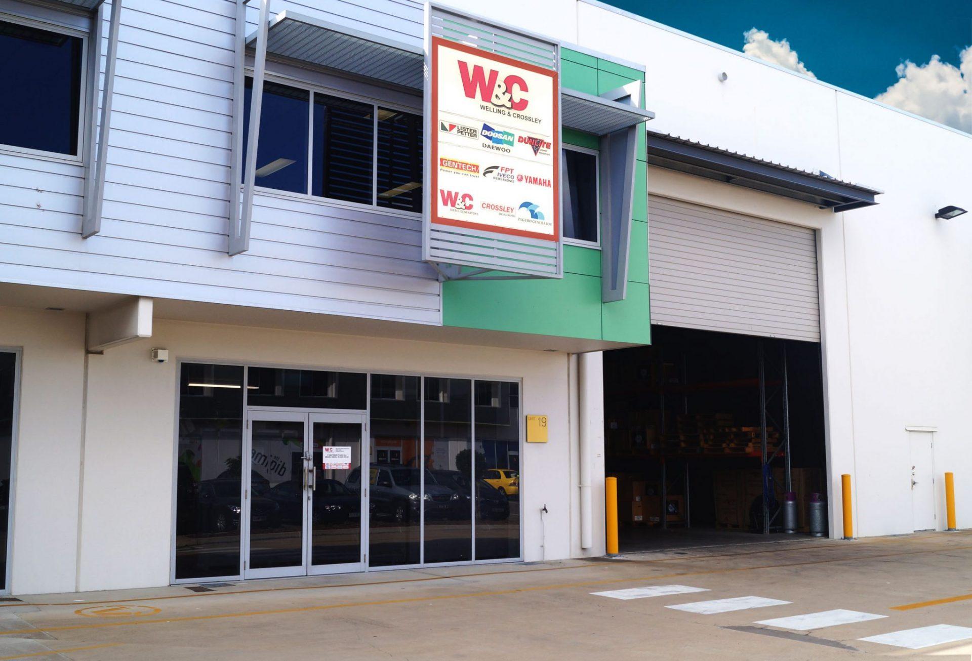 Yamaha Generators office in Townsville, North Queensland