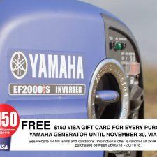 $150 Visa gift card offer TV commercial